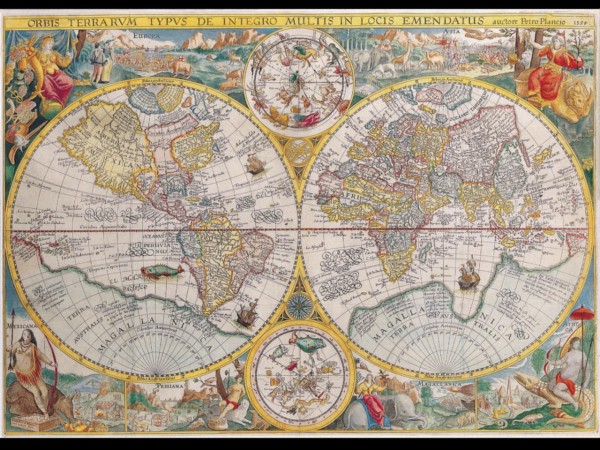 Jak diletantsky shrnout dějiny kartografie v Česku
