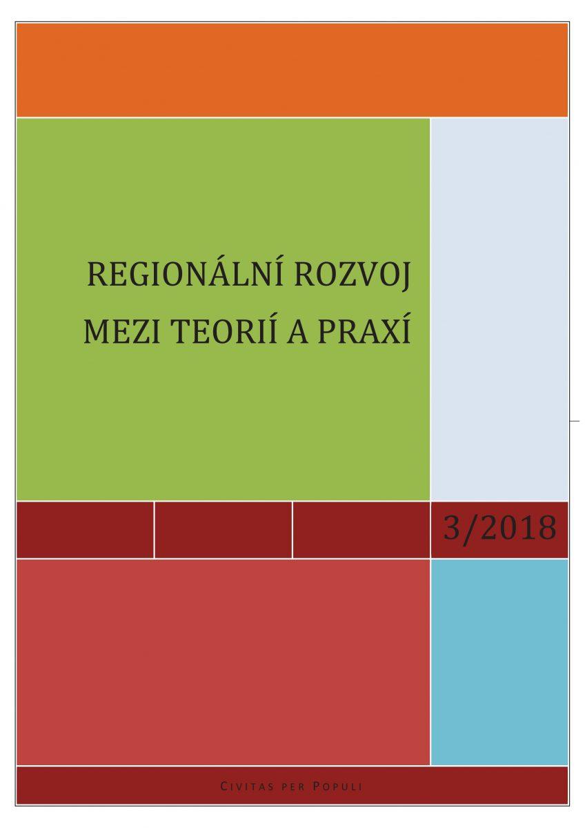 "Vyšlo nové číslo časopisu ""Regionální rozvoj mezi teorií a praxí"""