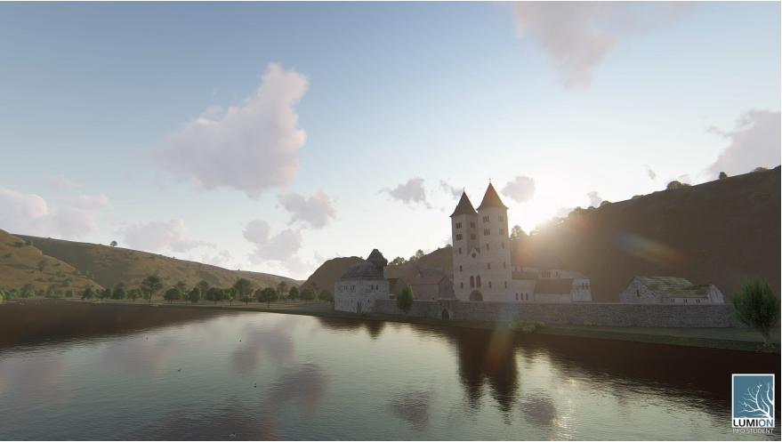 Ostrovský klášter ožívá ve 3D
