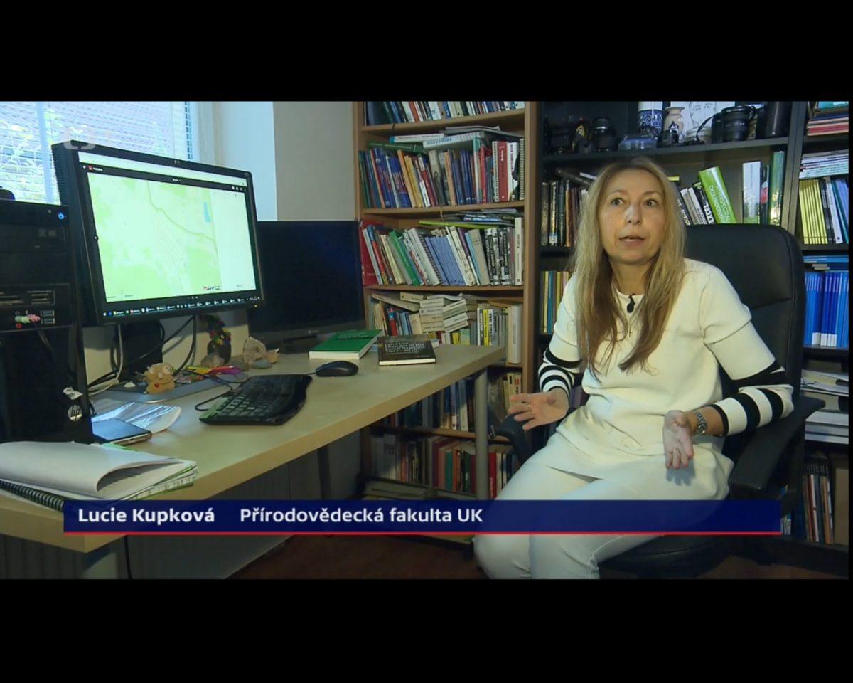 Dr. Kupková a dr. Müller na ČT24 o české krajině