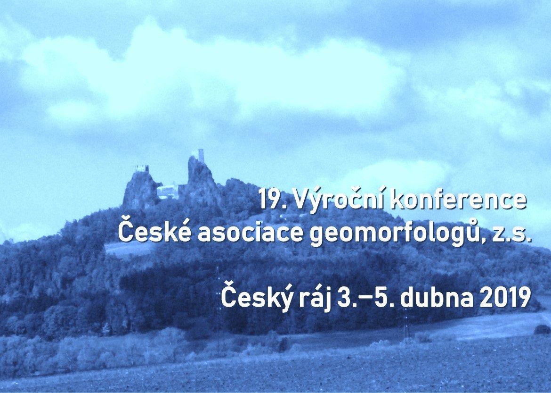 Konference České asociace geomorfologů
