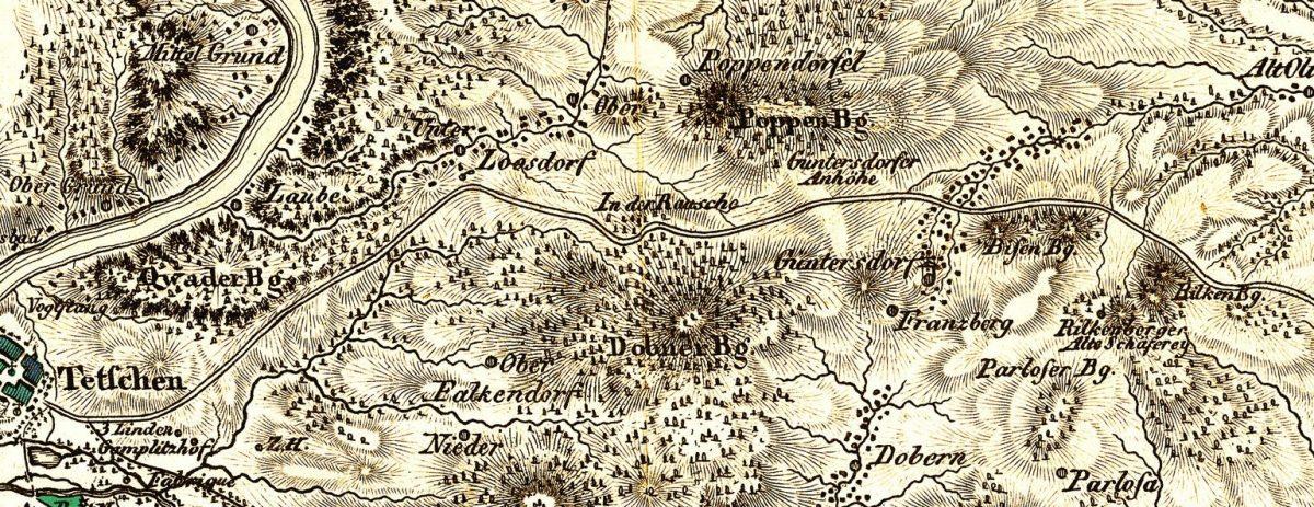 Kartografie v časech mezi poustevnami a koněspřežkou
