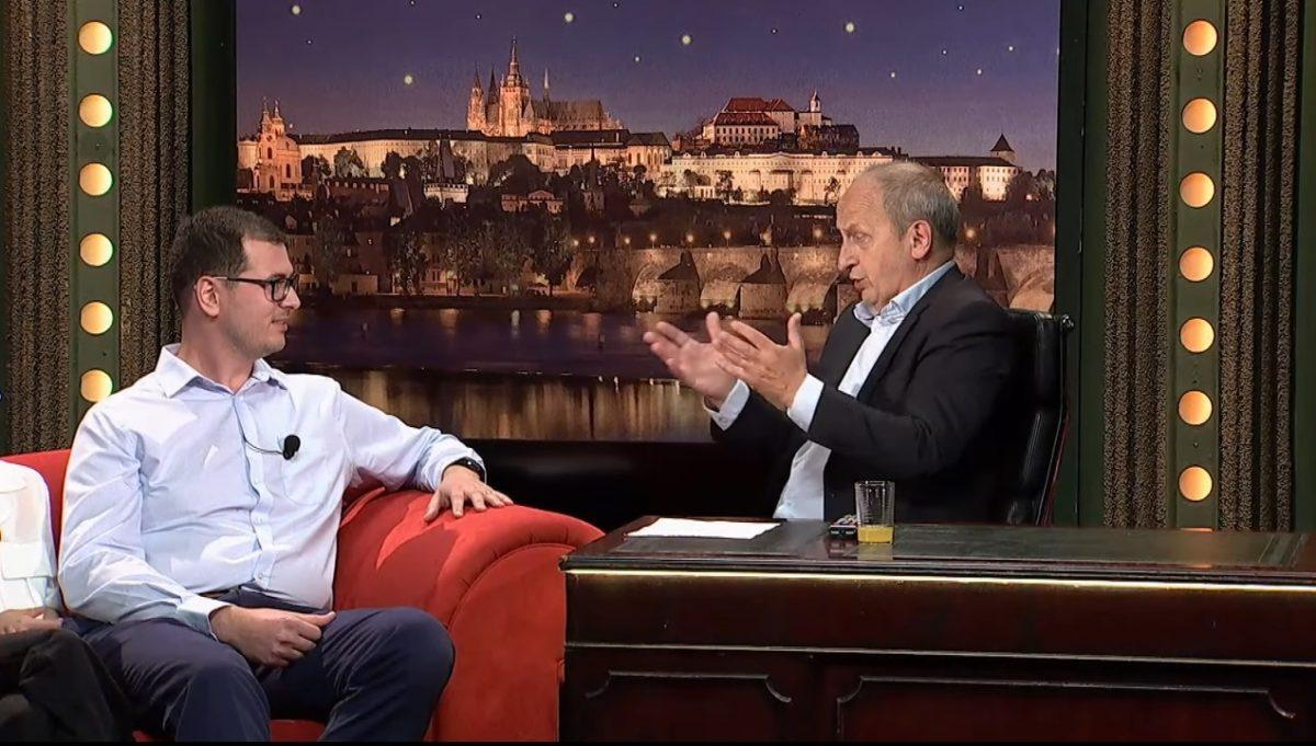 Geograf Michal Pitoňák hostem Jana Krause