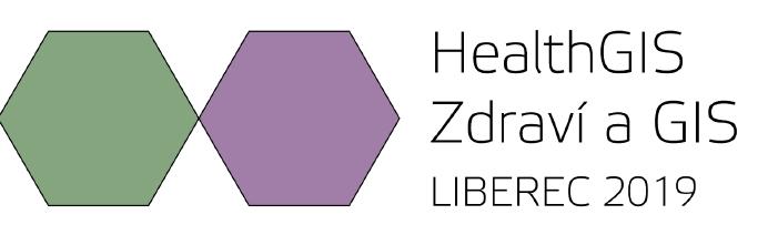 Konference HealthGIS – Zdraví a GIS, Liberec 2019