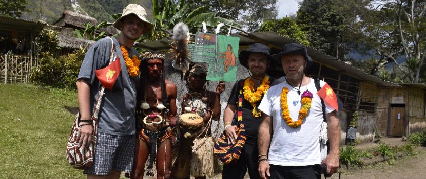 Terénní výzkum v papuánské komunitě Nungon 2019