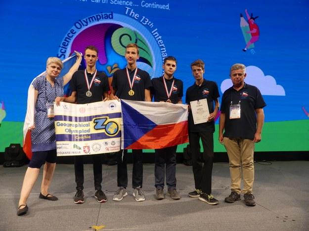 Český tým na Mezinárodní olympiádě věd o Zemi