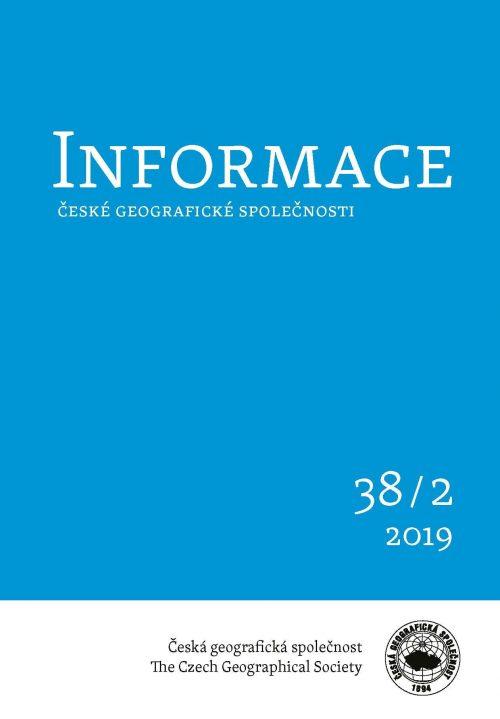 Vyšlo nové číslo časopisu Informace ČGS 2019/2
