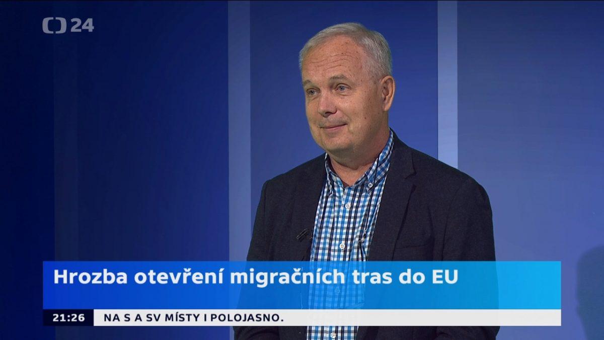 Profesor Dušan Drbohlav v programu Horizont ČT24