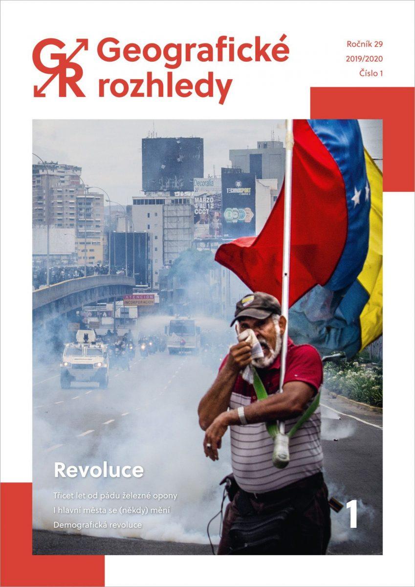 Vyšlo nové číslo Geografických rozhledů s tématem Revoluce