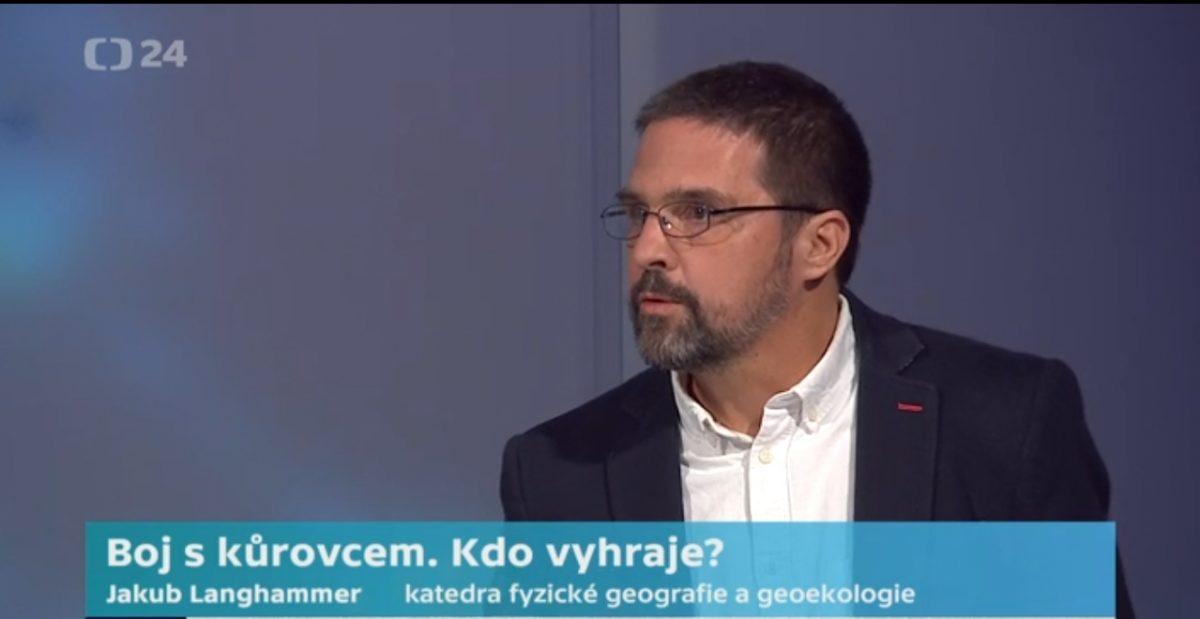Profesor Jakub Langhammer hostem pořadu Byznys ČT24 Speciál