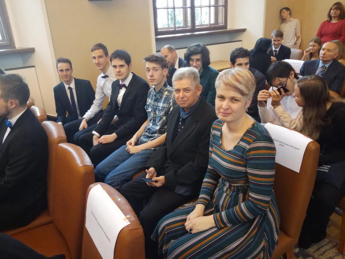 Ocenění účastníků mezinárodních olympiád ministrem školství