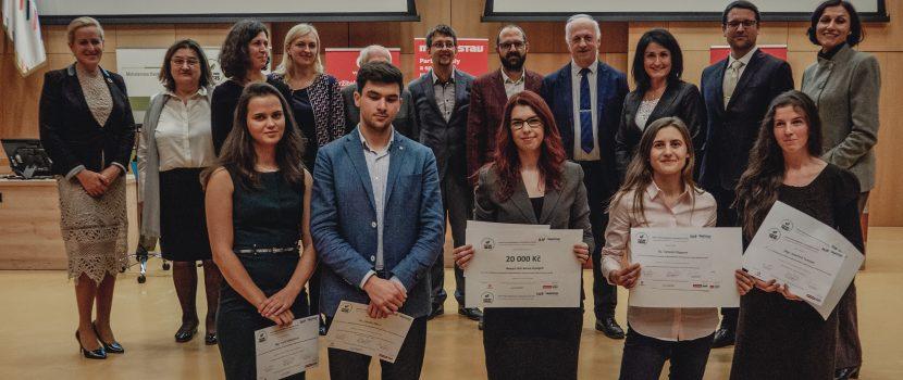 Úspěch ústecké studentky v soutěži kvalifikačních prací s  environmentální tématikou