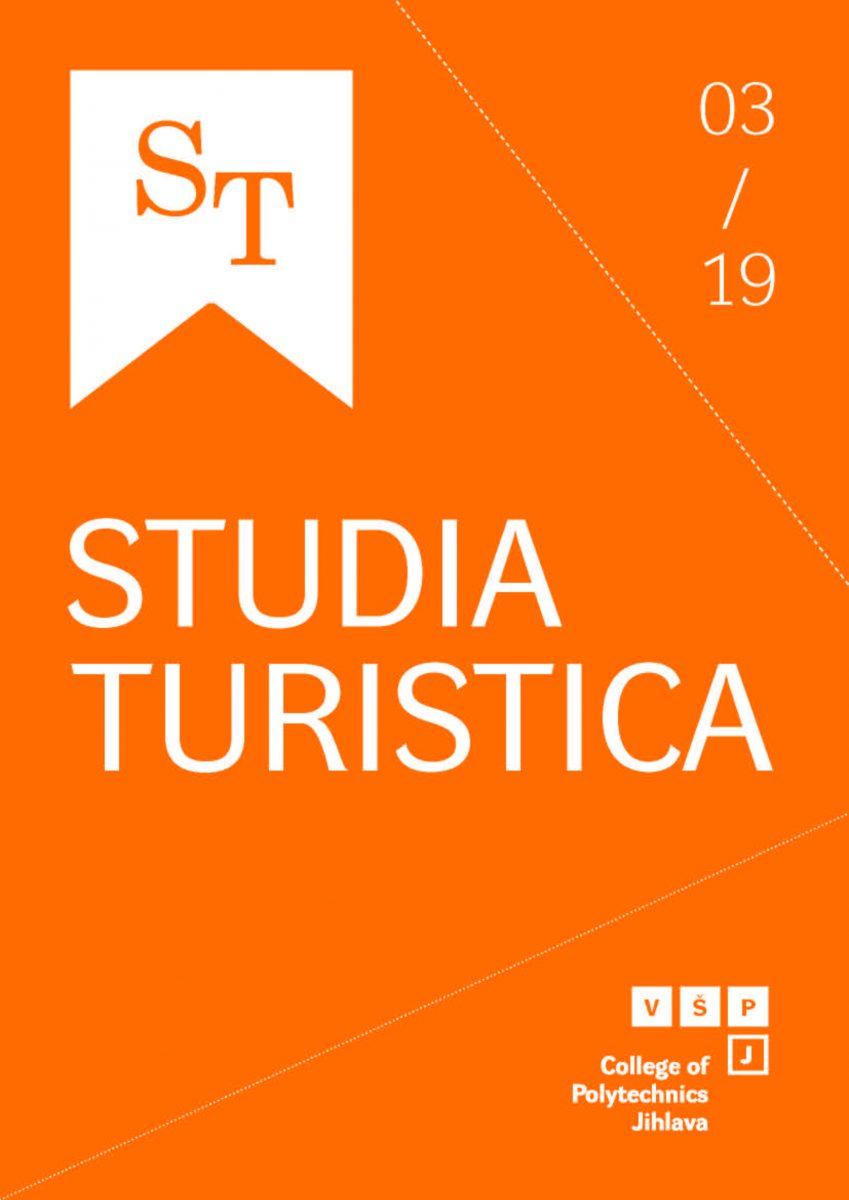 Časopis Studia Turistica – nové číslo 3/2019