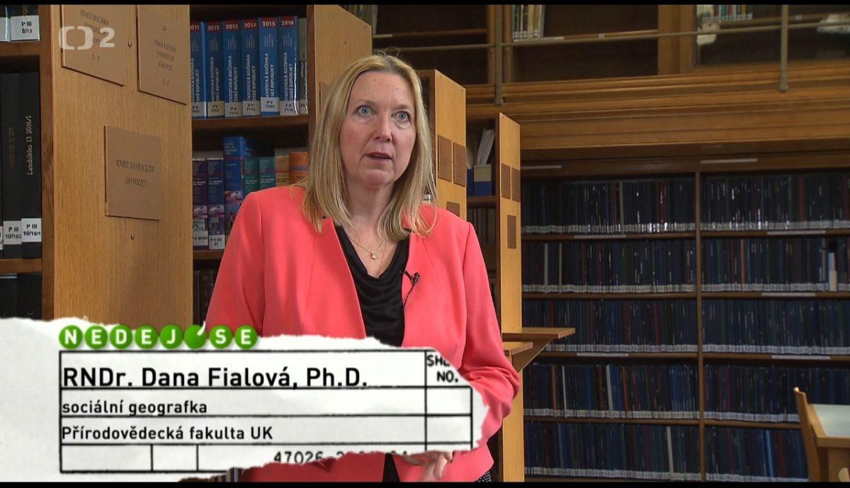 Dr. Dana Fialová v pořadu Nedej se!