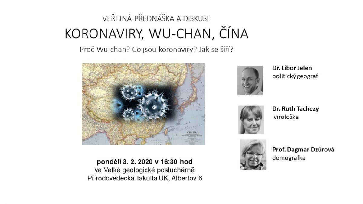 Veřejná diskuse: Koronaviry, Wu-Chan, Čína