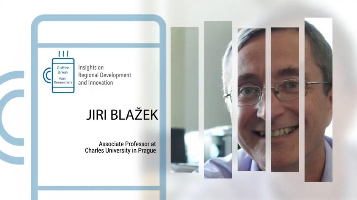 """Docent Jiří Blažek vystoupil v pořadu  """"Coffee Break with Researchers"""""""