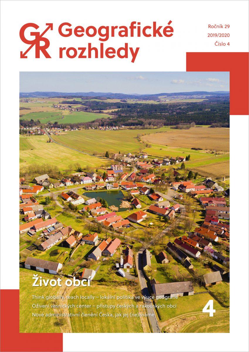 Vychází čtvrté číslo 29. ročníku GR s tématem Život obcí