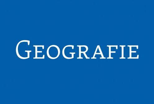 Vyšlo nové číslo časopisu Geografie