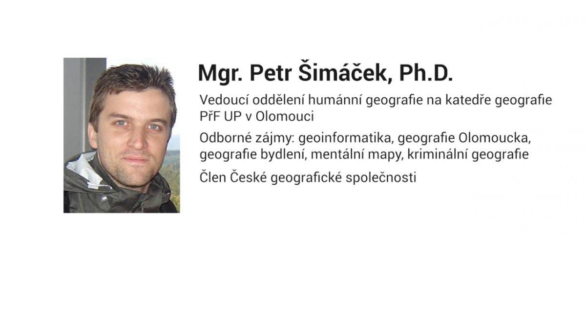 Mgr. Petr Šimáček, Ph.D. – Co jsou mentální mapy a k čemu jsou důležité?
