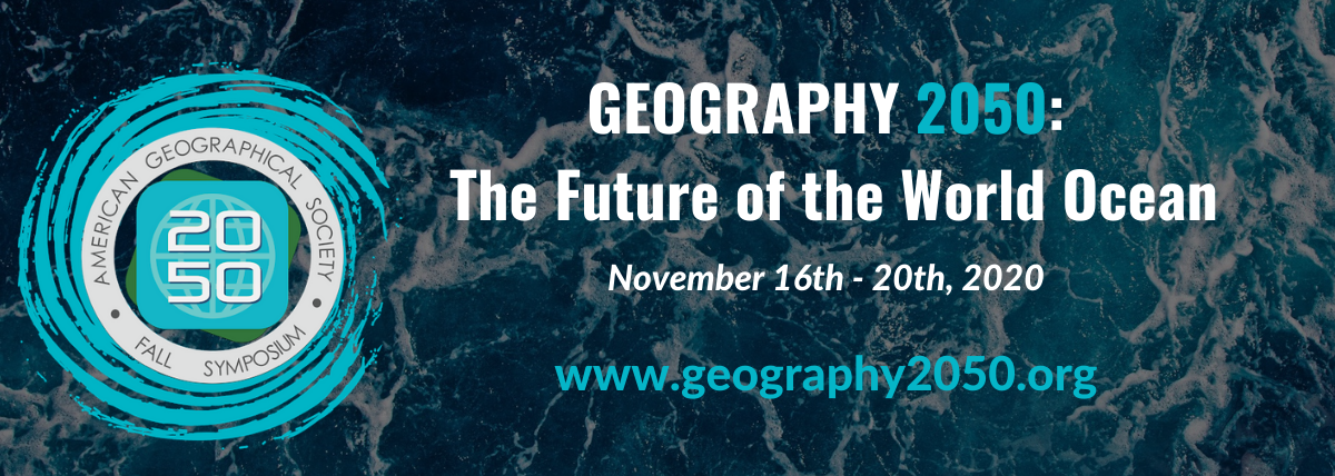 "Pozvánka na online konferenci ""Geography 2050: The future of the world ocean"""