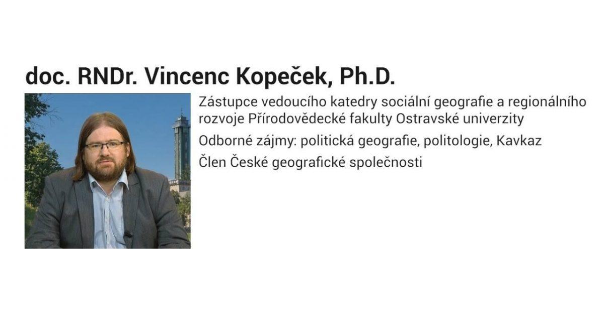 doc. RNDr. Vincenc Kopeček, Ph.D. – Karabašský konflikt v souvislostech