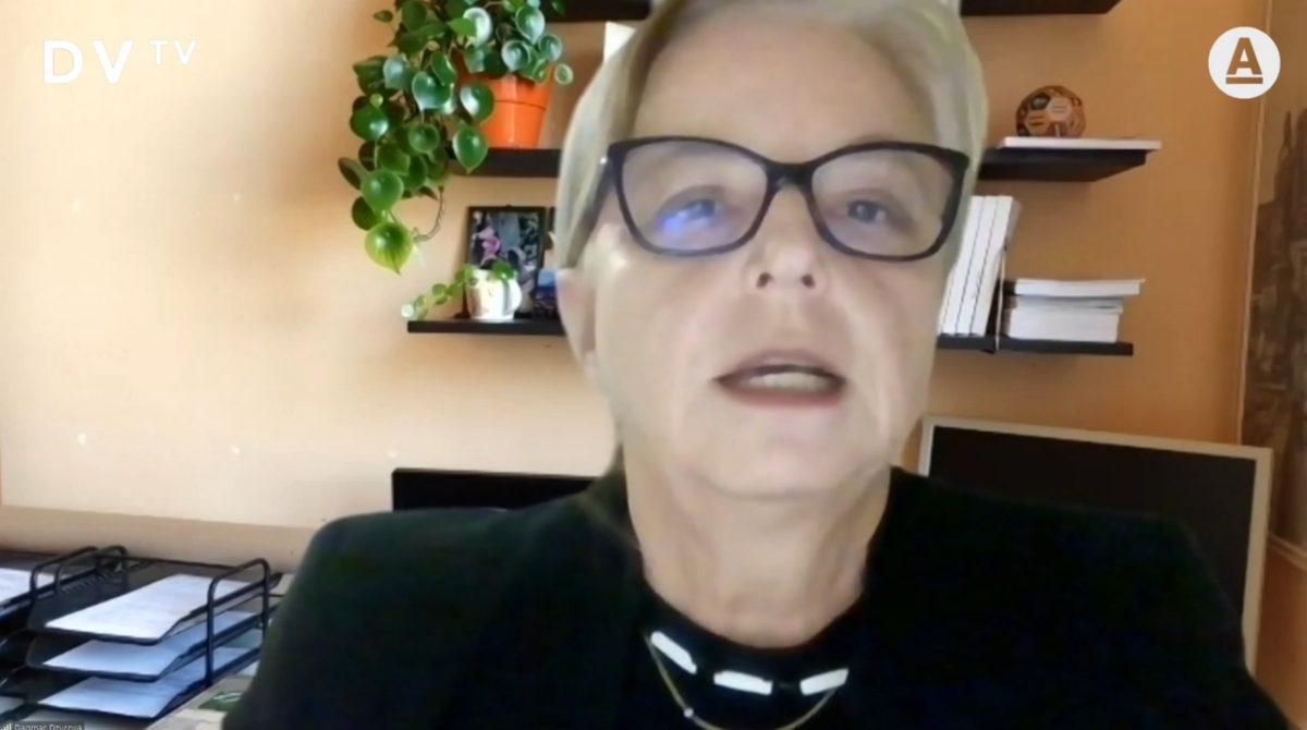 Profesorka Dzúrová vystoupila v pořadu DVTV