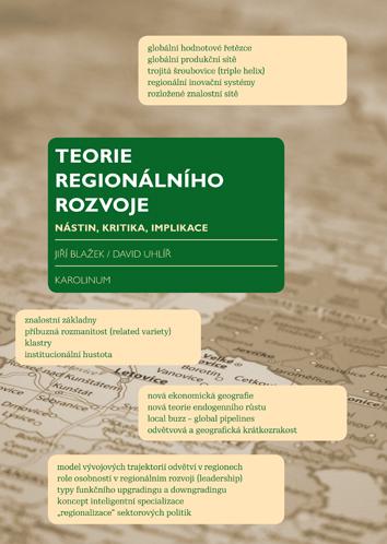 Vyšlo třetí vydání knihy Teorie regionálního rozvoje