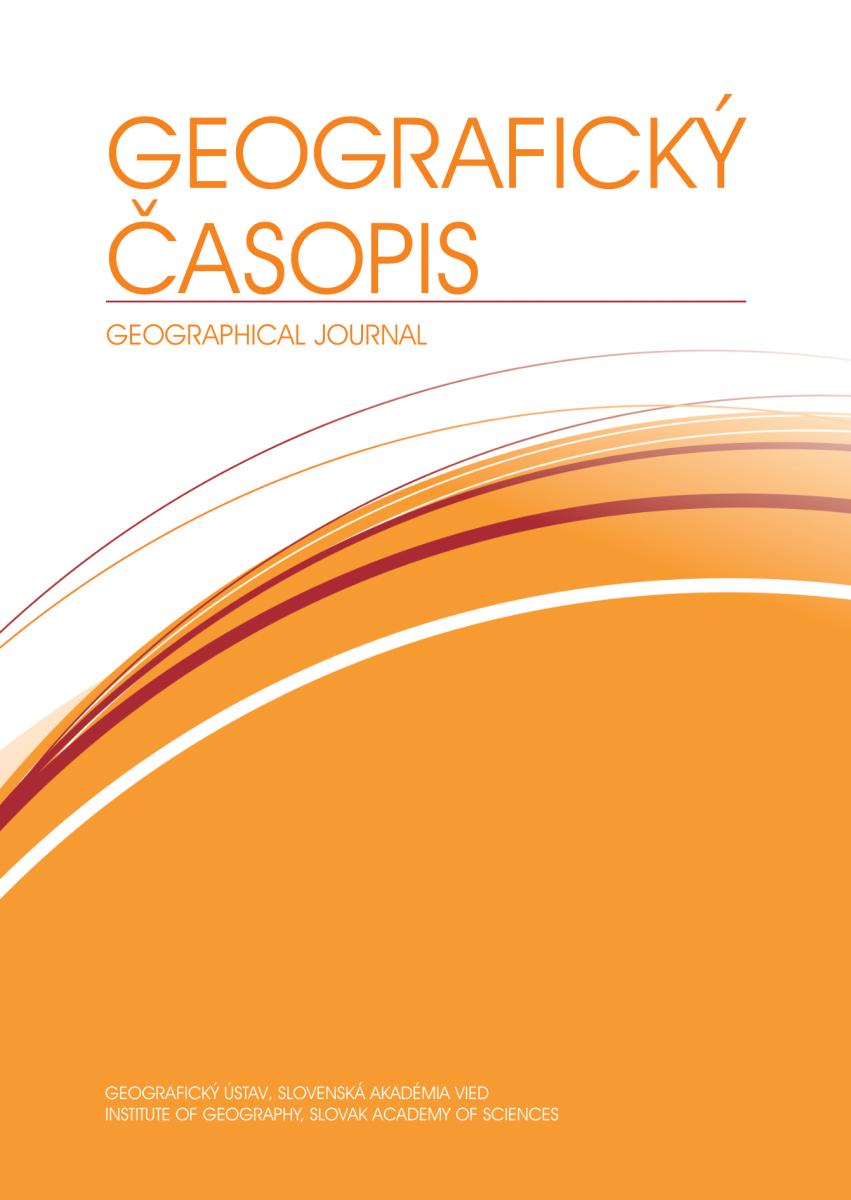 Geografický časopis nově v databázi Web of Science