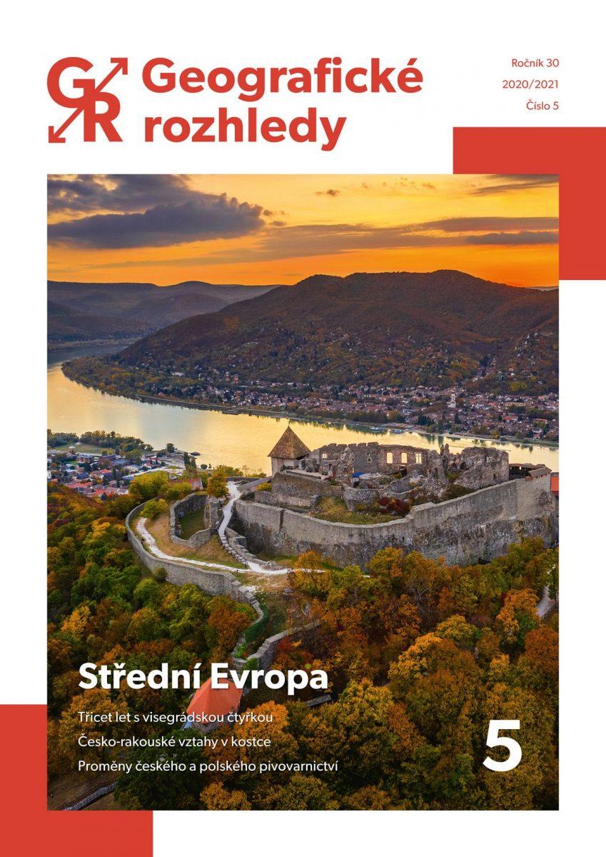Vychází páté číslo 30. ročníku Geografických rozhledů s tématem Střední Evropa
