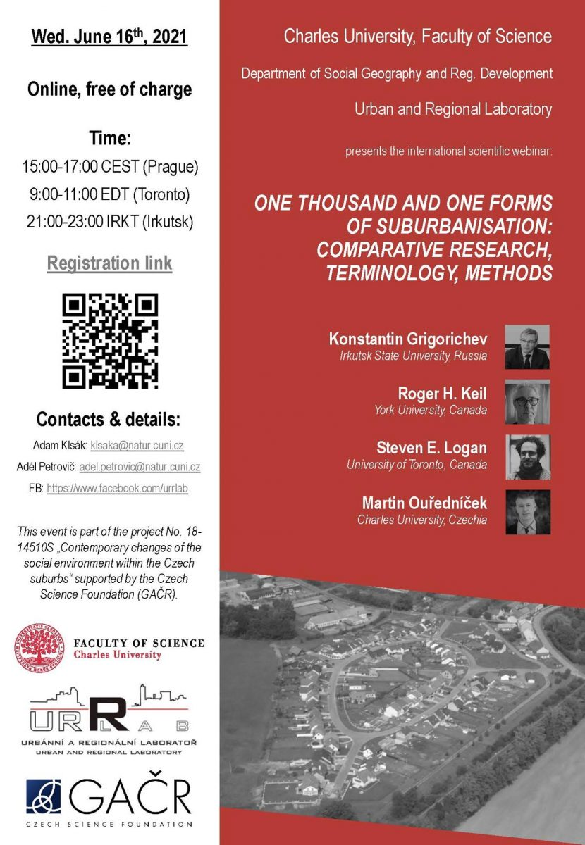 One thousand and one forms of suburbanisation: comparative research, terminology, methods
