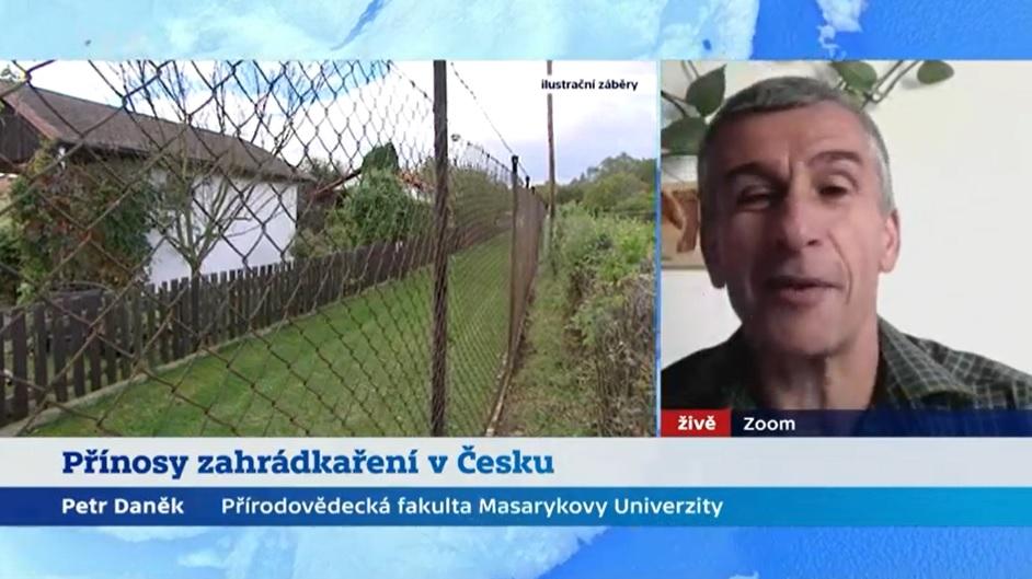 Dr. Petr Daněk k přínosům zahrádkaření ve Studiu 6