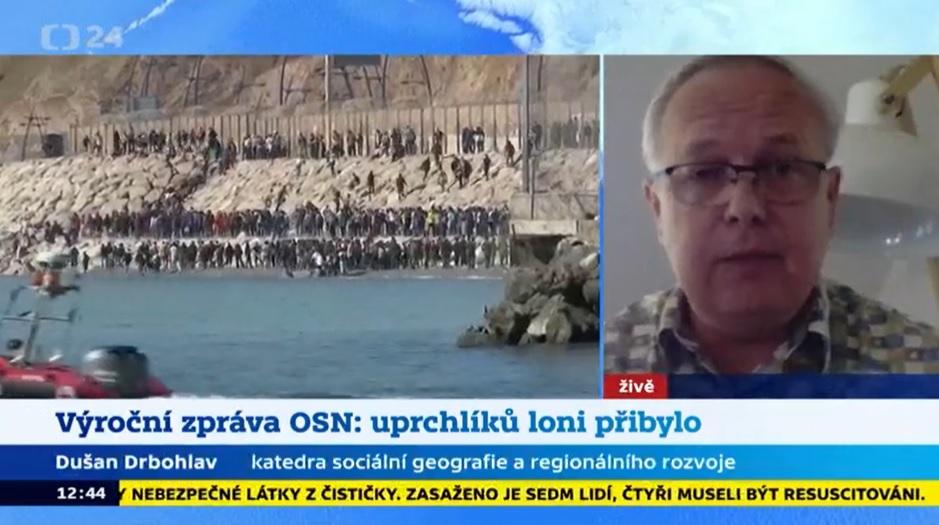 Vystoupení prof. Drbohlava na téma uprchlická krize v Evropě