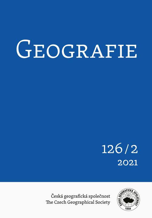 Vyšlo další číslo časopisu Geografie