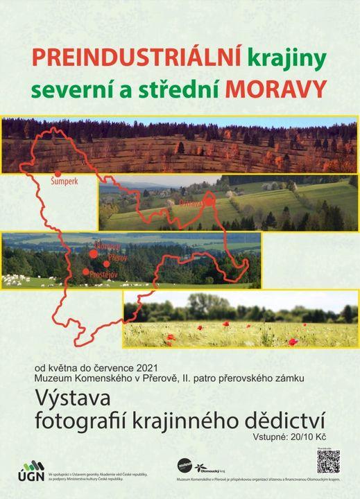 Výstava Preindustriální krajiny severní a střední Moravy