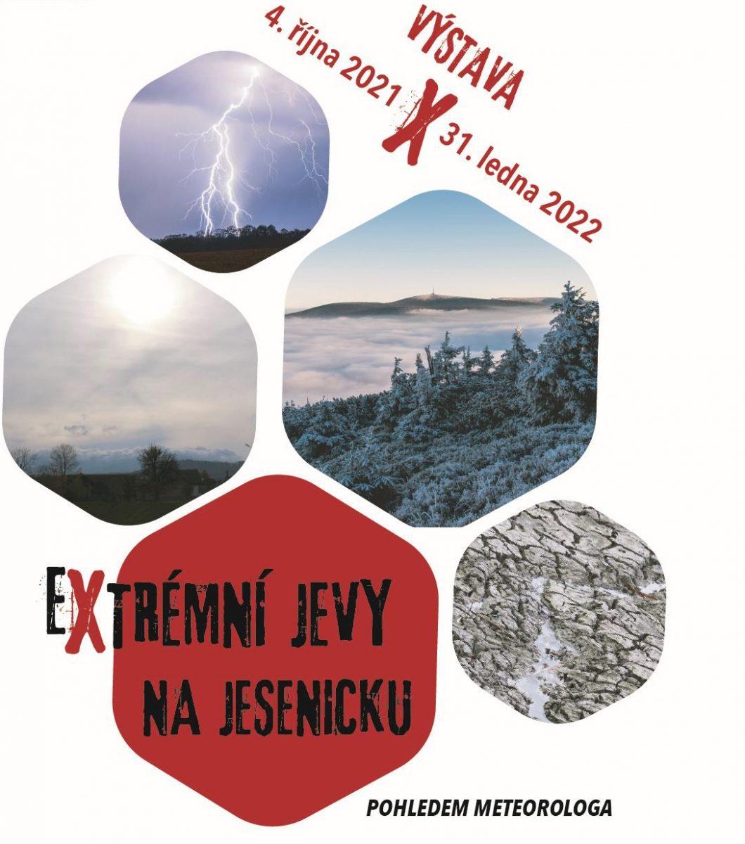 Výstava Extrémní jevy na Jesenicku pohledem meteorologa